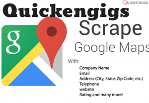 I will targeted google map data scraping, web scraping for business leads