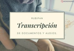 I will transcribe documents and audios