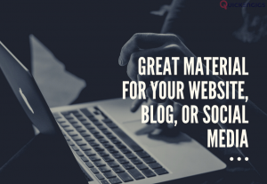 I'll write an essay, a blog post, or a website's material.