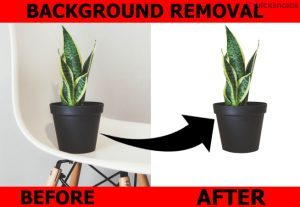 I will do images background removal and Retouching