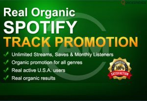 I will do organic viral spotify promotion for your track