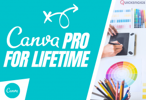 Canva Pro Account For Lifetime