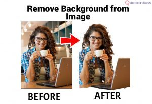 I will remove the Background of an image.