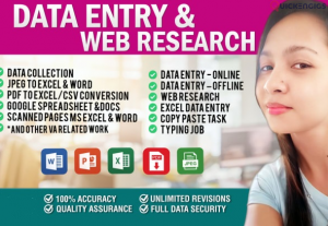 I will do data research and find out contacts, emails, web, fax