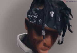 I'll make a realistic digital painting of whoever you want in 48 hours