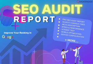 I will do SEO audit to fix all errors to rank higher + Free Keyword research