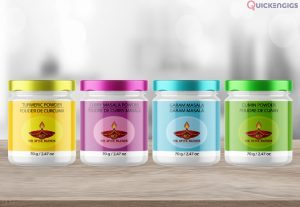 I will do a modern product packaging design and label design