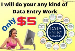 213703I will do any kind of data entry work in 1 day