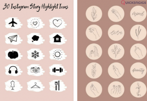 228197I will design attractive instagram story and instagram highlights story icon