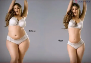 231794Changing human body shape in Photos for Good looking.