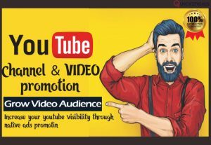 232000I will promote YouTube video for channel boost advertising viral marketing SEO