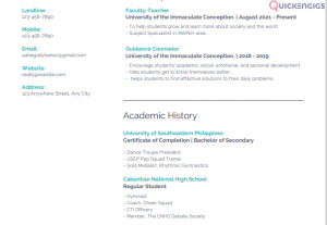 250306Professional Resume for Works and School