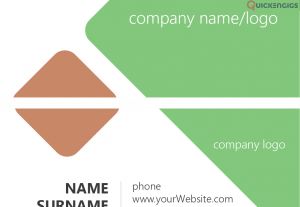 245027i will design business card