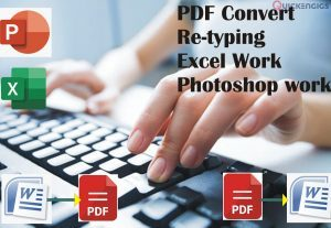 261349I will book write,  PDF to Word Convert and Word to PDF