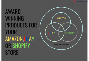 258886I will find 5 top products for your amazon, ebay or shopify store