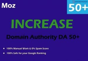 264665Increase your domain authority da up to 50 plus