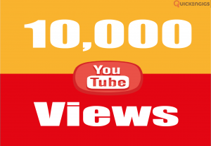 258304give you 10,000+ High Retention YouTube Views