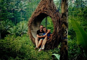 257237Wonderfull Couple spending time alone in woods