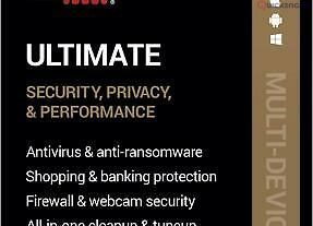 262703AVG ULTIMATE 2021 – FOR 10 DEVICES – 2 YEAR – NOW INCLUDES SECURE VPN – DOWNLOAD